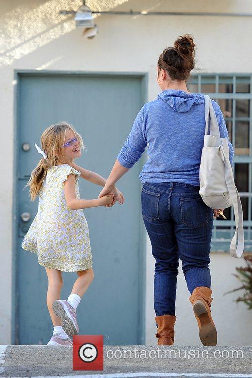 Violet Affleck Jennifer Garner and husband Ben Affleck...