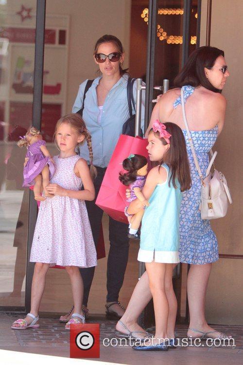 Jennifer Garner  seen with daughter Violet Affleck...