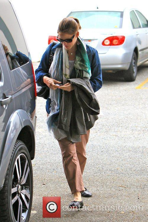 Jennifer Garner is seen after dropping off her...
