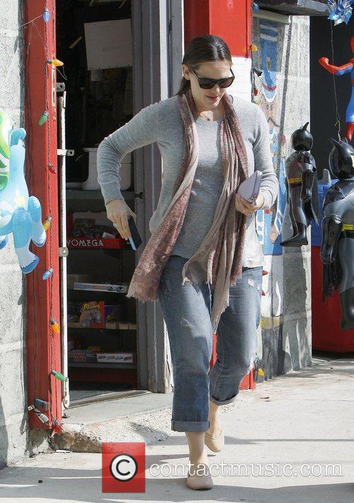 Jennifer Garner out and about in Brentwood.