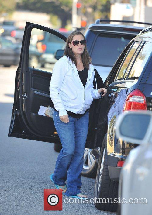 Pregnant Jennifer Garner  out and about in...