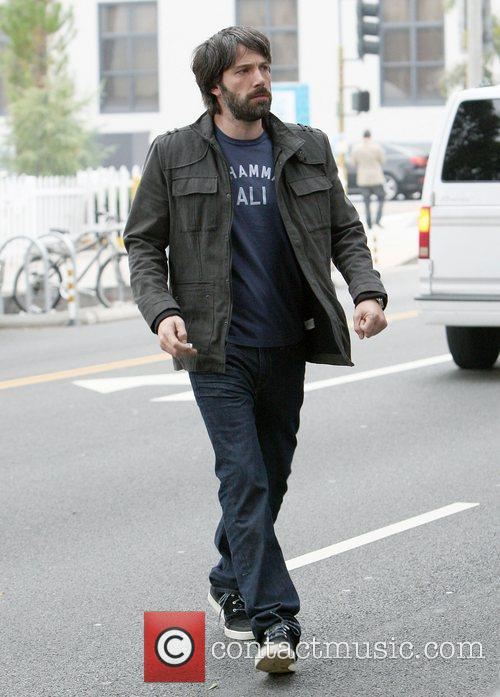 Ben Affleck out and about in Santa Monica.