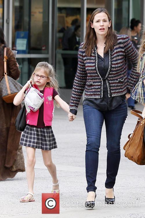 Jennifer Garner and Violet Affleck Jennifer Garner takes...