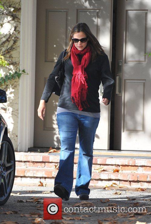 Jennifer Garner and Ben Affleck visiting a friend...