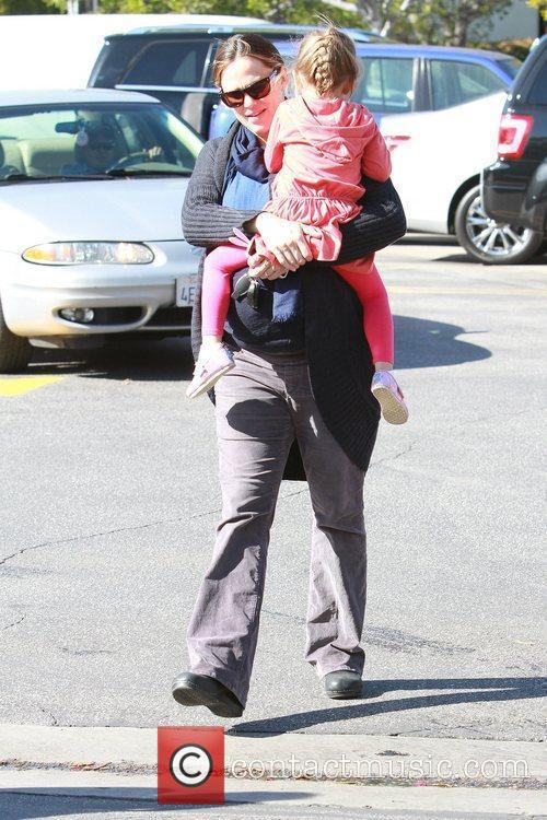jennifer garner takes her daughter seraphina affleck 5784087