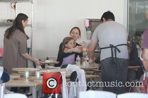 Jennifer Garner and husband Ben Affleck take their...