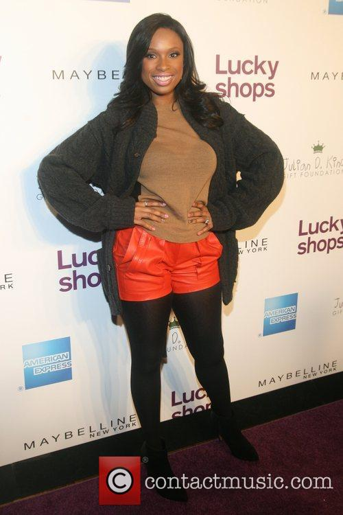 Jennifer Hudson attends the Lucky Magazine 9th Annual...
