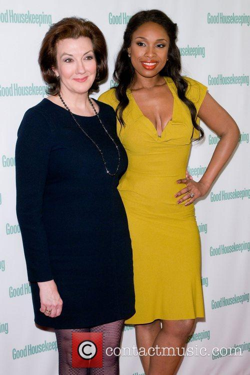 Jennifer Hudson with Rosemary Ellis attending a cocktail...