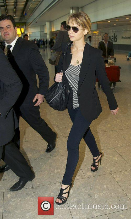 Arriving at Heathrow airport after flying in from...