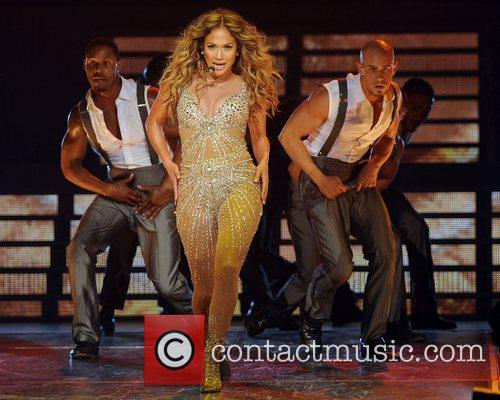 jennifer lopez performing in concert at the 4055888