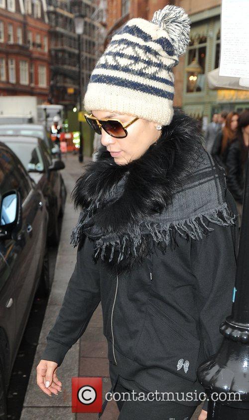 Jennifer Lopez  seen leaving her hotel wearing...