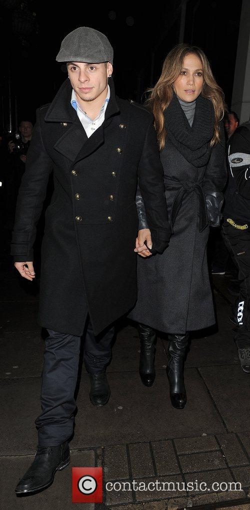 Casper Smart and Jennifer Lopez Jennifer Lopez and...