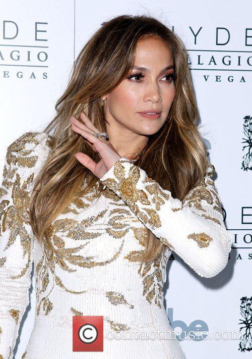 Jennifer Lopez celebrates the launch of her new...