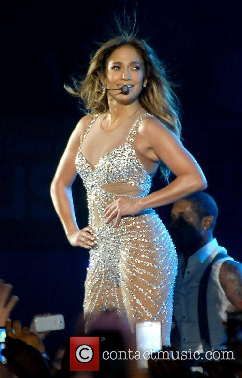 Jennifer Lopez  performing live in concert at...