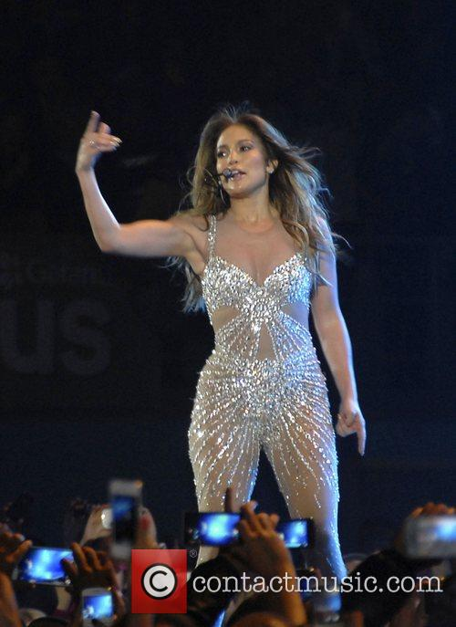 Jennifer Lopez  performing live in concert at...