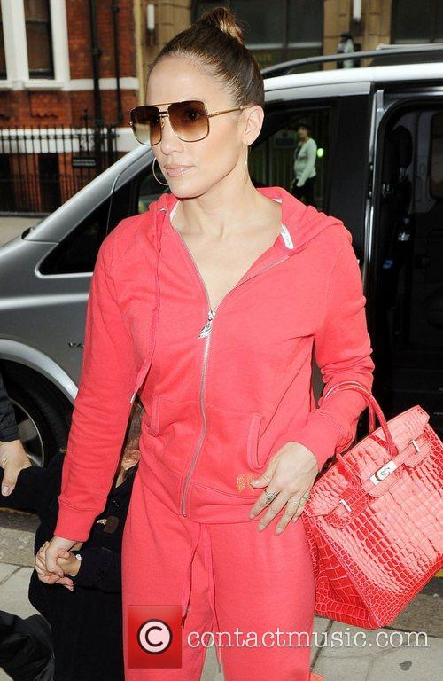 Jennifer Lopez, Harrods, Kensington