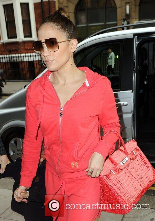 Jennifer Lopez, Harrods and Kensington 3