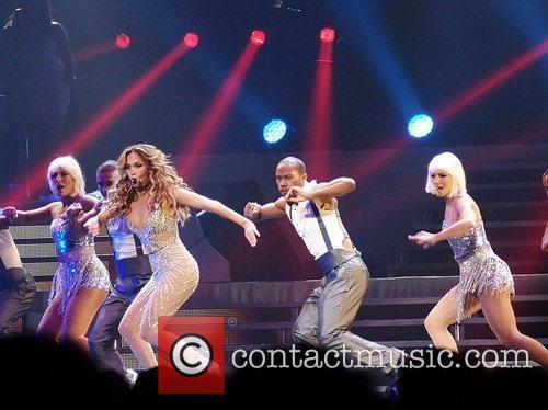 Jennifer Lopez  performing live in concert on...