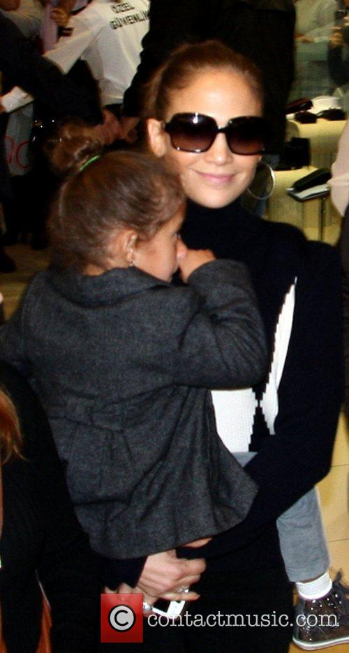 Jennifer Lopez and Emme 2