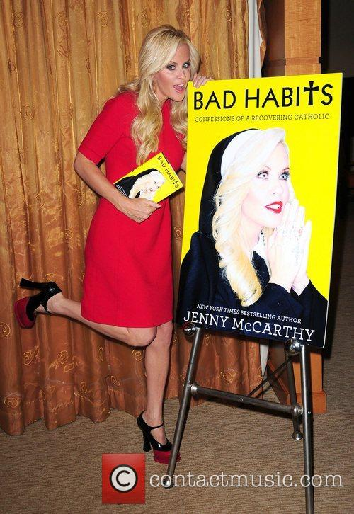 Jenny McCarthy promoting her book 'Bad Habits: Confessions...