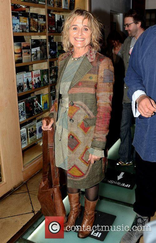 Sinead Cusack Jeremy Irons and his wife of...