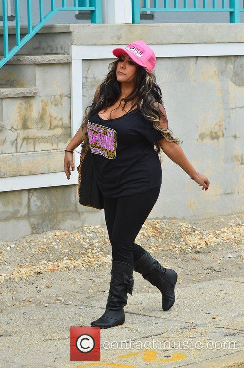 The cast of 'Jersey Shore' out and about...