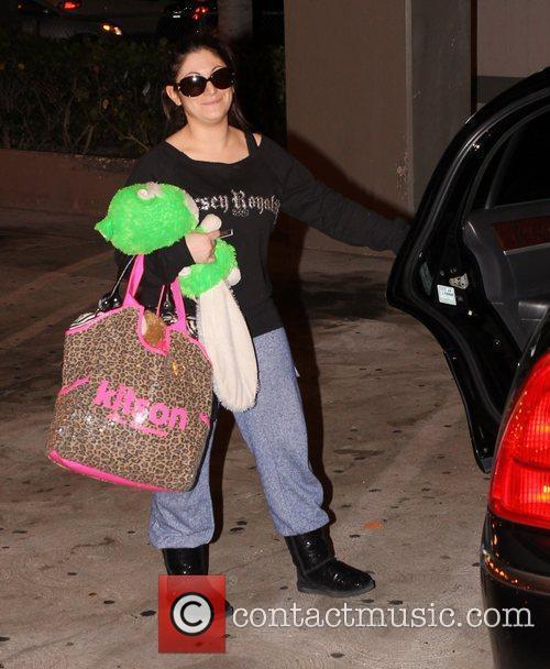 Deena Nicole Cortese arrives at LAX airport Los...