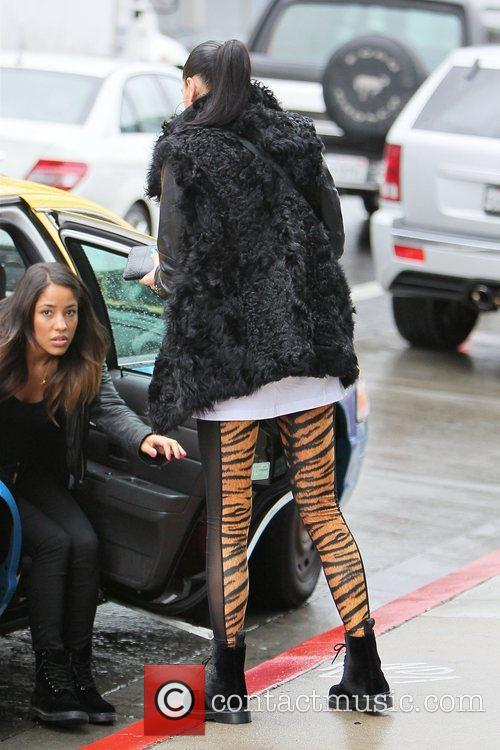 Jessie J real name Jessica Cornish wearing tiger...