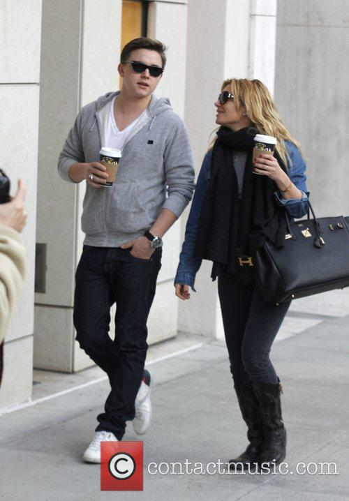 jesse mccartney and his mother ginger mccartney 3663754
