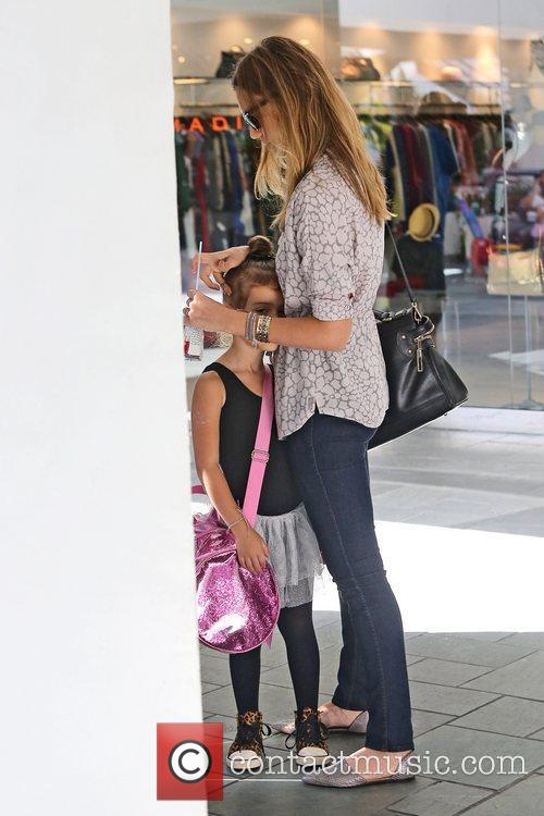 Jessica Alba and Honor Marie Warren 6