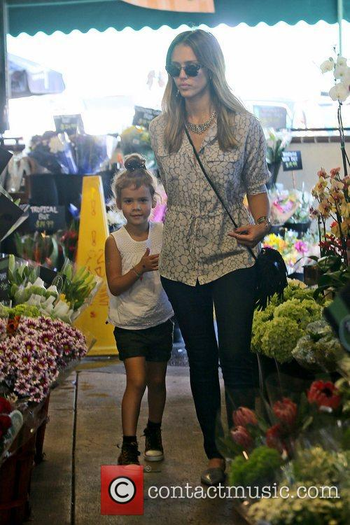 Jessica Alba and Honor Marie Warren 8