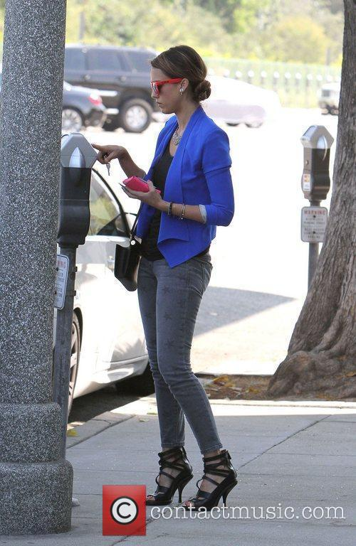 Jessica Alba out for lunch in Santa Monica...