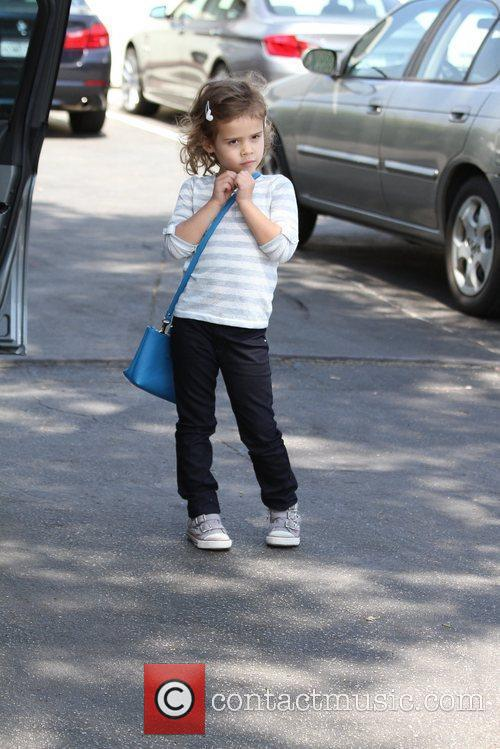 Jessica Alba spotted out and about with daughter...