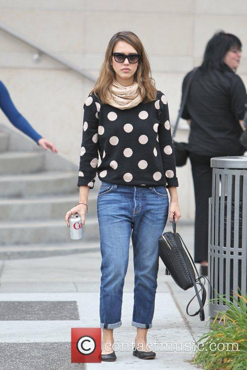 jessica alba is seen going to get 5761323