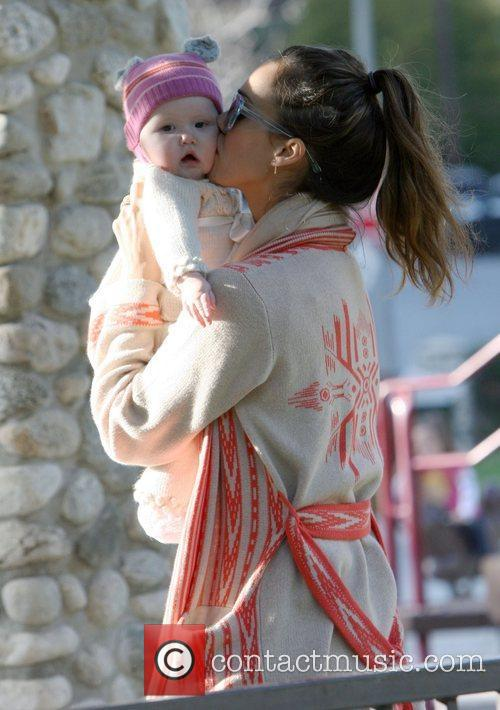 jessica alba and her daughter haven warren 3774608