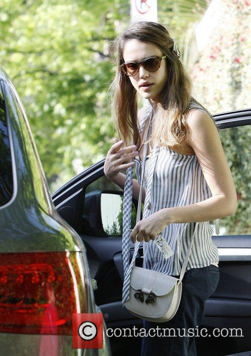 Jessica Alba out and about in Hollywood. Los...