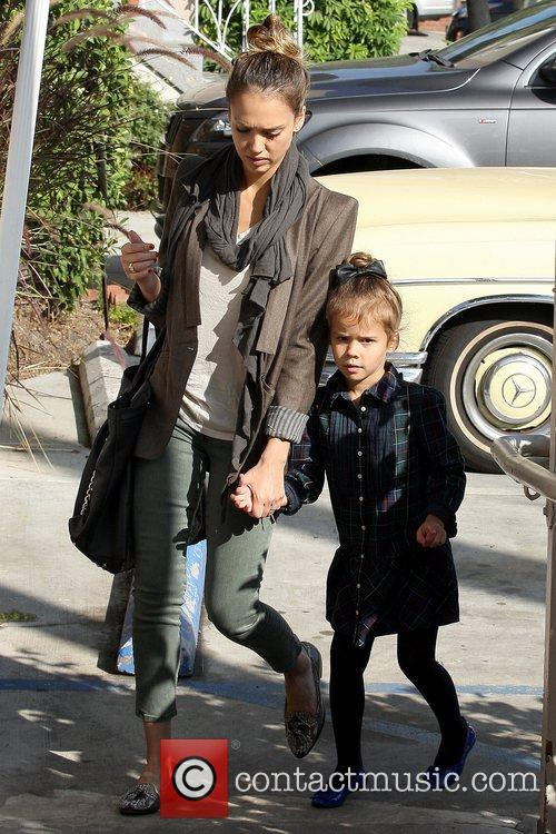 Jessica Alba and Honor Warren 4
