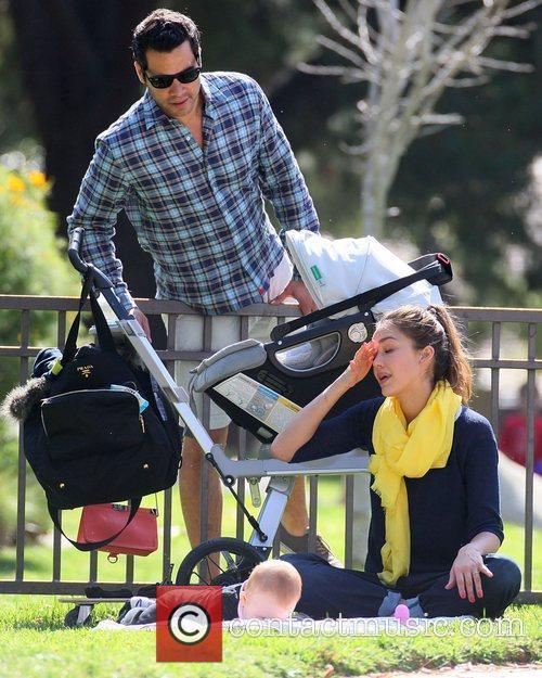Jessica Alba and husband Cash Warren with new...