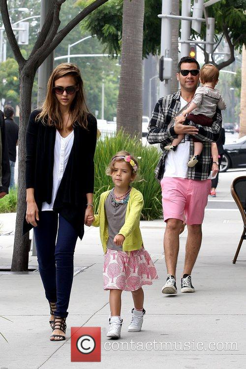Jessica Alba and Cash Warren 11