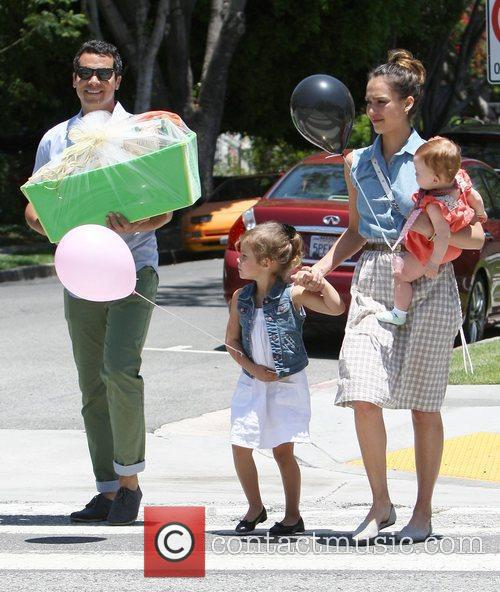 Jessica Alba and Cash Warren 9