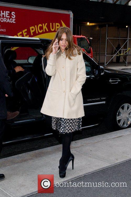 Jessica Alba and Manhattan Hotel 3