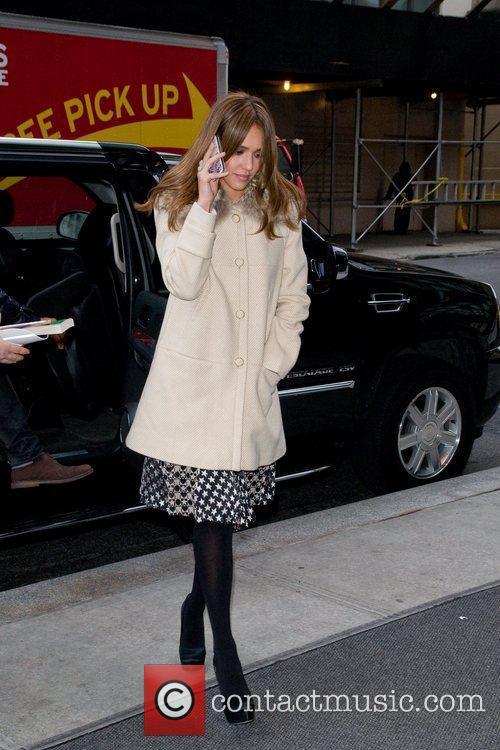 Jessica Alba and Manhattan Hotel 4