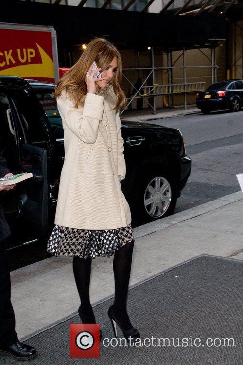 Jessica Alba and Manhattan Hotel 1