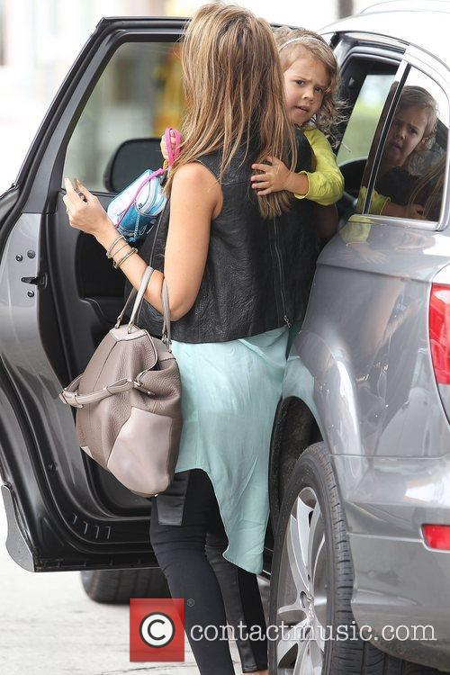 jessica alba with daughter honor marie warren 4046587