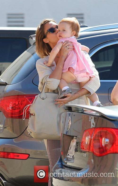 Jessica Alba and Haven Warren 9