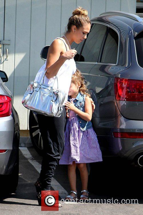 Jessica Alba and Honor Marie Warren 9