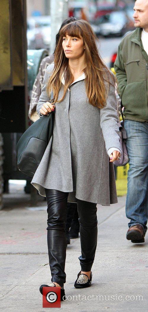 Jessica Biel, Soho and Manhattan 1