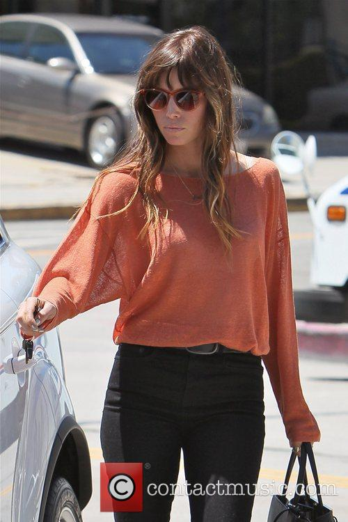 jessica biel seen out and about in 5884788