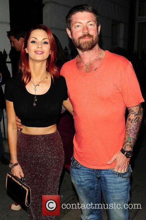 Jessica-Jane Clement and Lee Stafford at Ronnie Wood:...