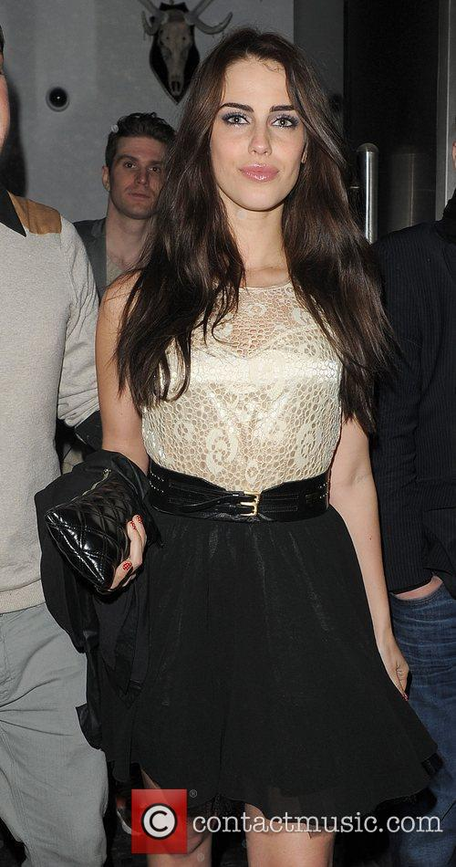 Jessica Lowndes enjoys a night out at Bond...